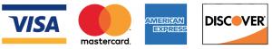VISA, MASTERCARD, AMEX, DISCOVER CARD